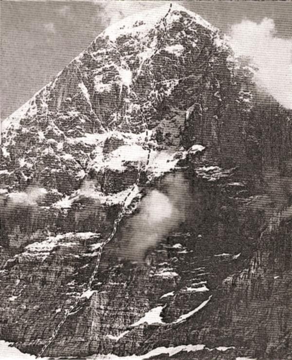 """""""Ideálni direttissima"""", Pavol Pochylý, 1983 (fot. arch. Piotra Paćkowskiego)"""