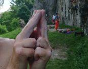Redakcja wspinanie.pl dołącza się do akcji #ClimbToParis2024 wprost z Doliny Bolechowickiej