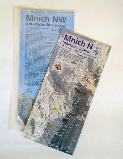 Mnich jest dostępny w księgarni wspinanie.pl w wersji składanej w foliowej koszulce