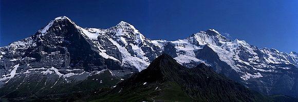 Panorama Eigeru (fot. arch. Piotra Paćkowskiego)