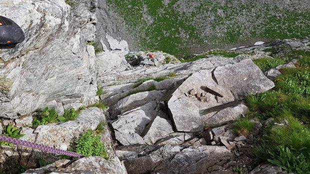 Łukasz na drugiego na Kotle Kazalnicy (fot. Kacper Tekieli)