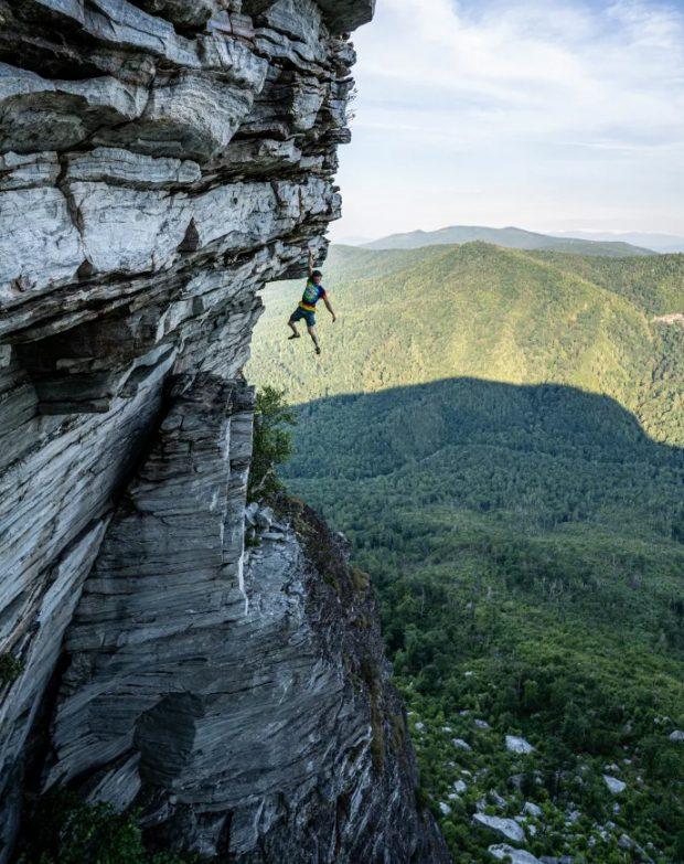 Austin Howell na Shortoff Mountain (fot. Ben Wu)