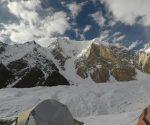 Gasherbrum VI widziany z bazy pod Gasherbrumami (fot. Jacek Czech)