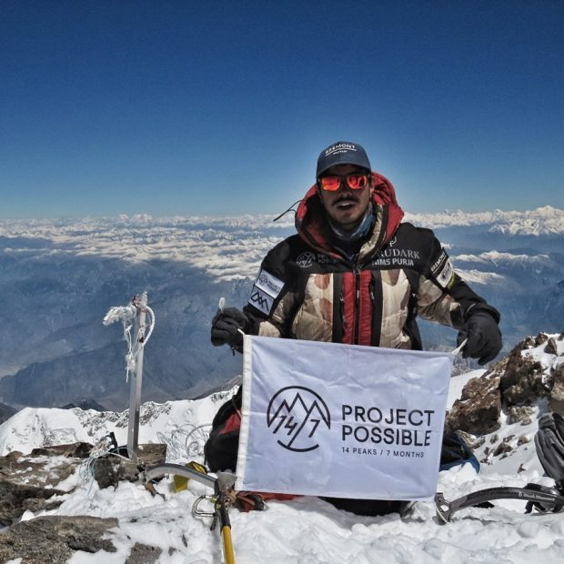 "Nirmal Purja na Nanga Parbat (fot. ""Project Possible - 14/7"")"