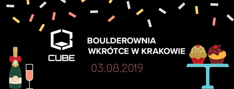 Otwarcie krakowskiej boulderowni Cube już 3 sierpnia
