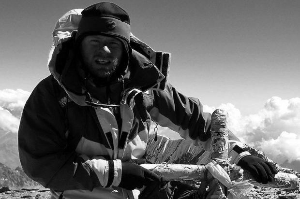 Zsolt Torok na Aconcagua (fot. www.torok.ro)