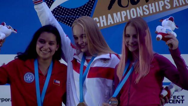 Ola Kałucka wywalczyła brązowy medal na Mistrzostwach Świata Juniorów w Arco