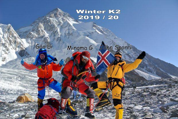 Ekipa Mingma Gyalje Sherpa, z którą Nepalczyk zamierza zdobywać zimą K2