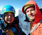 Maks Ten i Kirił Belotserkowskij na szczycie Čon-Turasu (fot. FB Kirill Belotserkovskiy)