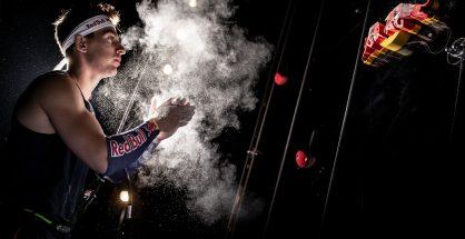 Marcin Dzieński vs winda, (fot. Marcin Kin / Red Bull Content Pool)