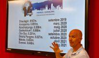 Sergi Mignote prezentuje swój plan w Barcelonie (fot. Sergi Mignote)