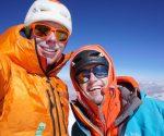 Tom Livingstone i Alastair Swinton na szczycie Koyo Zom (fot. Tom Livingstone)