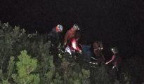 Akcja na Alpawand (fot. Bergrettung Unken)