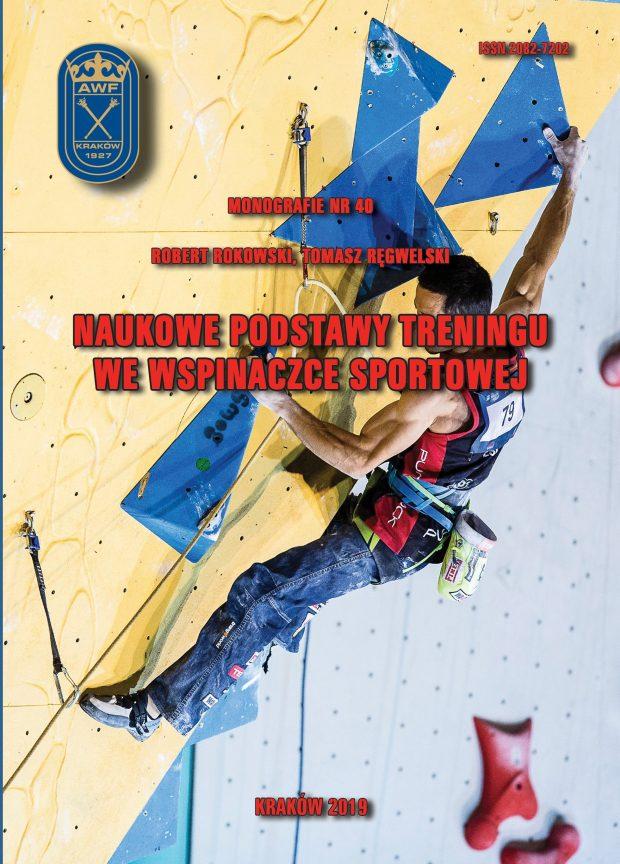 """""""Naukowe podstawy treningu we wspinaczce sportowej"""", 2019"""