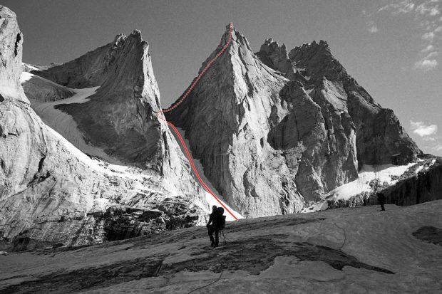 Droga na Trident (5780 m)