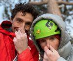 Jacopo Larcher i Barbara Zangerl -selfie na szczycie El Capitan