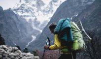 Jost Kobush w drodze pod Mount Everest
