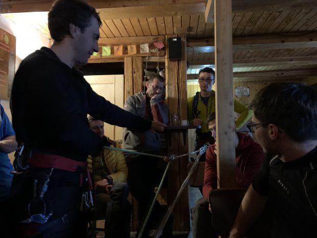 Szkolenia na sucho (fot. O. Rodrigo-Pereira)