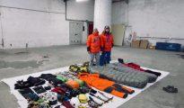 Vincent Saura i Jonathan Bordes Mazamet przed wyruszeniem do Pakistanu