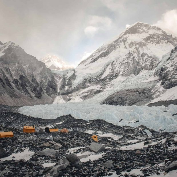 Baza pod Mount Everestem (fot. FB Jost Kobusch)