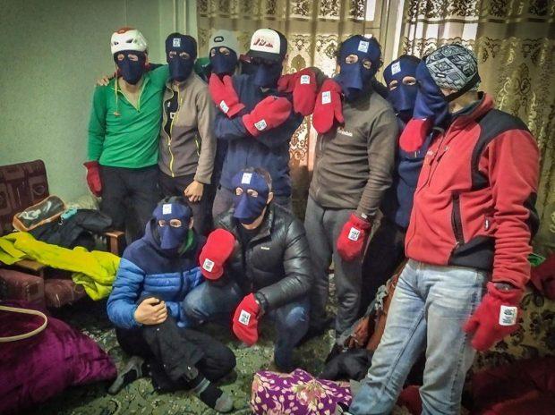 Ekipa wyprawy po Zimową Śnieżną Panterę