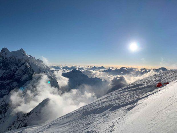 Obóz trzeci na 6400 m (fot. Oswald Rodrigo Pereira)