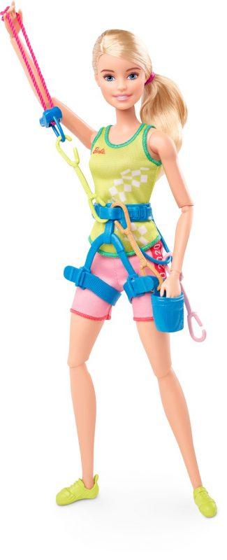 Wspinaczkowa Barbie