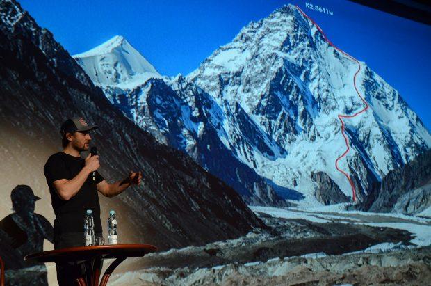 Andrzej Bargiel i jego linia zjazdu z K2