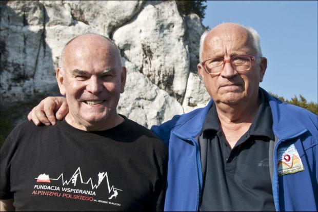 Janusz Majer i Jan Kiełkowski w 2017 roku (fot. Danuta Piotrowska)