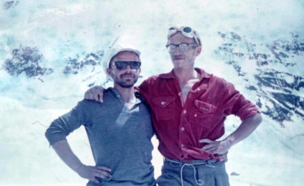 Jan Franczuk i Jan Kiełkowski pod Pikiem Lenina, 1970 (fot. WEGA)