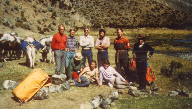 Ekipa wyprawy w Andy Peruwiańskie, 1981