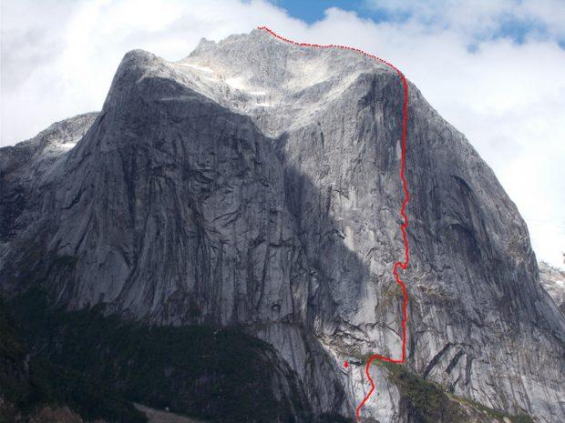 """Przebieg """"Sincronia màgica"""" na Cerro Chileno"""