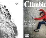 """Pierwszy numer magazynu """"Climbing"""" (1970) i jubileuszowe wydanie (2020)"""