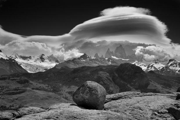 Jedna z patagońskich pięknych fotografii Ralfa Gantzhorna