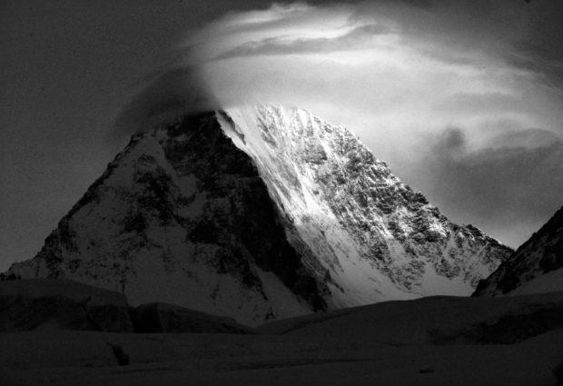 Gasherbrum IV od strony południowej, fot. Wanda Rutkiewicz, archiwum Jana Bortkiewicza