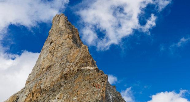 W ścianie Punta Brendel (fot. Verticalflow)