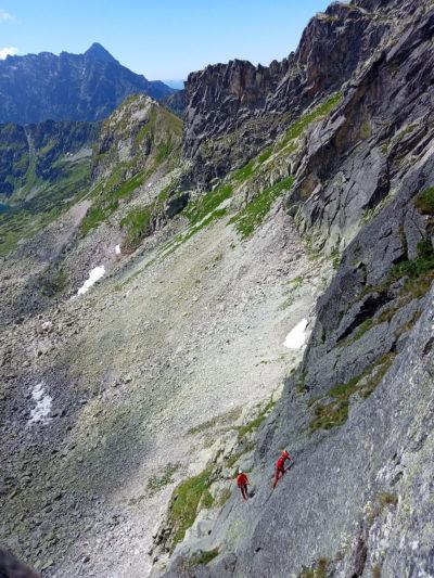 """""""Lato w Kobylanach"""" wspinaczka nad Dolinką Pustą (fot. Rafał Nowak)"""