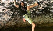 """Dani Fuertes na """"Ali Hulk Extension Total"""" 9a + (fot. Carlos """"Citro"""" Logroño)"""