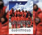 "Plakat ""Les guerriers de l'Himalaya"". pod takim tytułem film jest promowany we Francji"