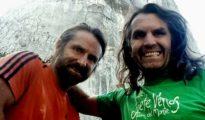 "Alex i Thomas Huber zadowoleni po przejściu ""Siete Venas"""