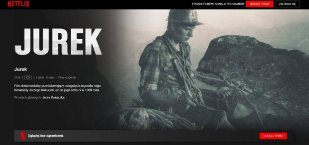 """""""Jurek"""" w serwisie Netflix"""