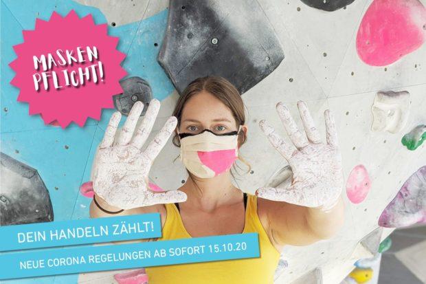 Poważne podejście do regulacji koronawirusowych nie uchroniły niemieckich obiektów wspinaczkowych przed ponownym lockdownem (fot. Boulderwelt Dortmund)
