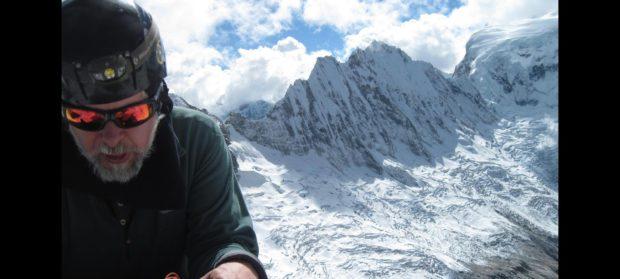 Mirosław Mąka podczas wyprawy w Andy Peruwiańskie w 2016 roku. Wspólnie z Elżbietą Jodłowską i Danielem Milla Lliuya dokonał pierwszego polskiego wejścia na Nevado Mateo.