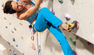 """""""Wspinaczka na sztucznej ścianie. Pierwsze kroki i podstawy treningu"""", Laurence Guyon, Olivier Broussouloux, 2020"""