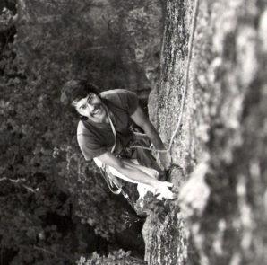 Ryszard Pilch w Skałach w Szwecji, 1981 rok