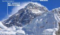 """""""Nowa"""" wysokość Mount Everestu - 8848.86 m"""