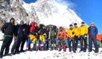 Himalaiści z wyprawy Seven Summits Trek w bazie pod K2 (fb Seven Summits Trek)