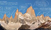 Reverse Fitz Traverse, czyli The Moonwalk Traverse (fot. Patagonia Vertical/Raolando Garibotti)