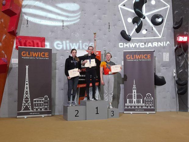 Juniorki młodsze, czasówki: 1. Daria Marciniak, 2. Milena Ciechanowska, 3. Arlena Sznajder