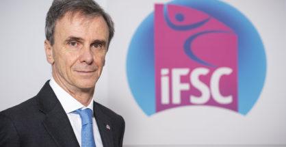 Marco Scolaris, prezes IFSC (fot. Giorgio Perottino/IFSC)